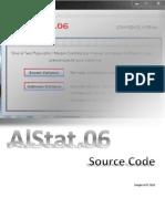 AlStat.06 Source Code, Java Program