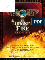 Kane Chronicles 2 Event Kit