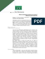 Resenha - Lima Vaz H.C.L. Raízes da Modernidade (Landim R.)