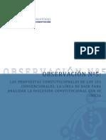 """Informe """"Observación 5"""" del Observatorio Nueva Constitución"""