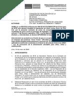 Nº 013-2020-SDC-INDECOPI - De Oficio vs. Arcor -Frutas