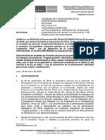 Nº 012-2020-SDC-INDECOPI - De Oficio vs. Molitalia - Fungelé Gomitas