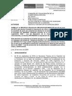 Nº 0016-2020-SDC-INDECOPI  - De Oficio vs. Molitalia -Ambrosia