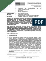 Nº 087-2021-SDC-INDECOPI - Julio Garcia vs. Arcor - Saquitos