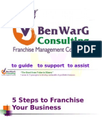 5 Steps to Franchise Your Business