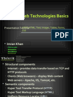 7. Web Technologies Basics