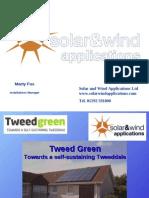 Tweedgreen - Solar and Wind Applications