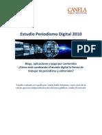 Estudio Periodismo Digital 2010