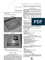Legislação_Modelo Aprovado de Sonda Câmaras frigoríficas
