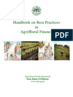 Handbook Best Practices Agri Rural Finance