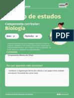 Roteiro 1 ANO 4 PERÍODO COMPONENTES BÁSICOS DA CÉLULA