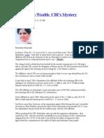 Mayawati's Wealth