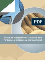 Manual de procedimentos contábeis para fundações e entidades de interesse social