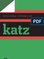 KATZ EDITORES Catalogo 2010