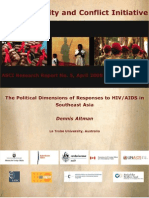 Political Respones Altman, Latrobe 2008