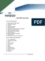 Excel 2007 Intermedio