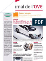 Journal OVE Edition Speciale Mondial