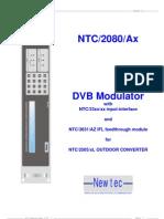 Newtec Mod 2080