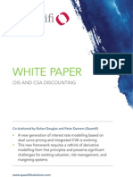 Quantifi Whitepaper - OIS and CSA Discounting