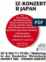 Benefizkonzert Japan 2011f