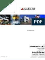 AMC DriveWareSoftwareManual