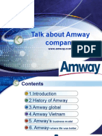 Talk About Amway Company