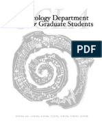 Official Musicology Department Graduate Student Guide