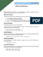 1º Medio - Adición de Polinomios[1]