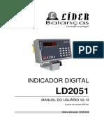 Indicador Digital Ld2051
