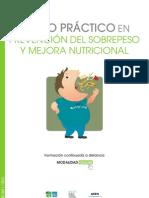 Guia curso práctico en prevencion del sobrepeso