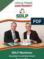 SDLP Manifesto