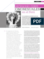 Matrimonio Homosexual a Favor