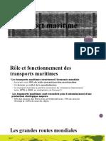 GL Transport Maritime Par Conteneur P2