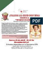 Película Temple Grandin (Vamos Al Cine Con Epa)