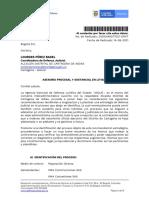 Oficio de la Agencia Nacional de Defensa Jurídica del Estado al Distrito de Cartagena