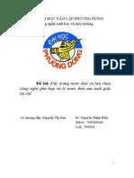 Nguyễn Minh Hiếu- Sản xuất giấy tái chế.
