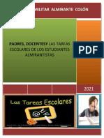 2021 PROYECTO TAREAS ESCOLARES