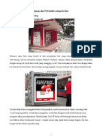 Contoh on-OH Premise Signage Dan POP +Analisis VIEW