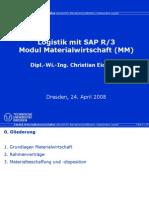 SAP R/3 MM Materialwirtschaft