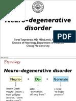 Neurodegenerative Disorder, Jan 54