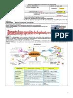 Guía No.02 III Período Español Octavo Repaso Categorías Gramaticales