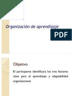 Organización de aprendizaje