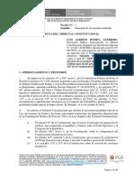 Demanda de Inconstitucionalidad contra Ley 31355
