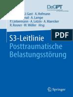 S3 Leitlinie Posttraumatische Belastungsstörung Springer 2019