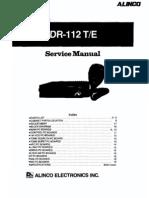 ALINCO Service Manual dr112 SM