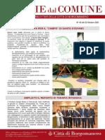 Notizie Dal Comune di Borgomanero del 22-10-2021