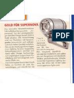 review - light, supernova