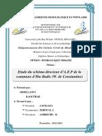 ETUDE DE SHEMA DIRECTEUR D'AEP ibn badis