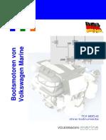 Electrical diagram Volkswagen marine TDI-256-6