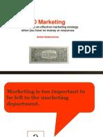 Zero Dollar Marketing for TIE